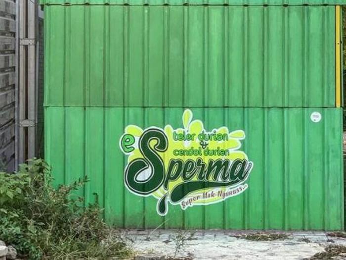 Es Teler Durian Sperma di Jogja