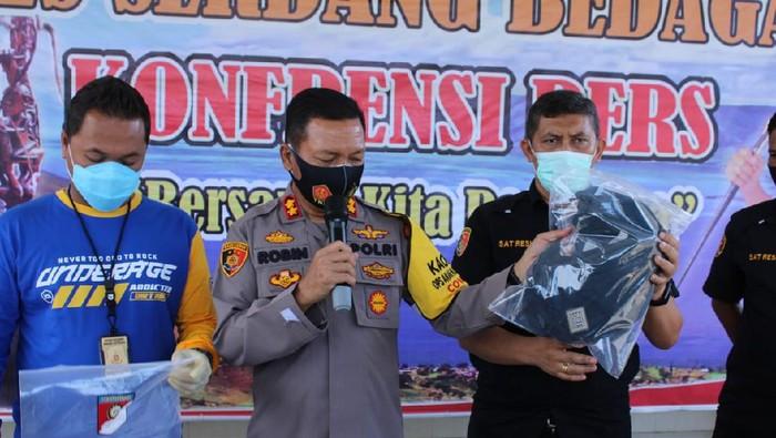 Konferensi pers di Polres Serdang Bedagai (dok. Istemewa)
