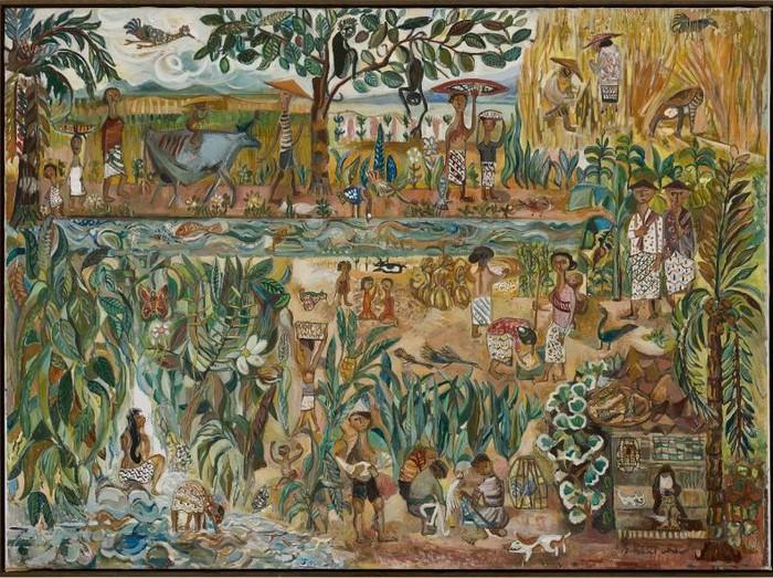 Lukisan Sudjana Kerton Laku Terjual di Hong Kong senilai Rp 15 miliar
