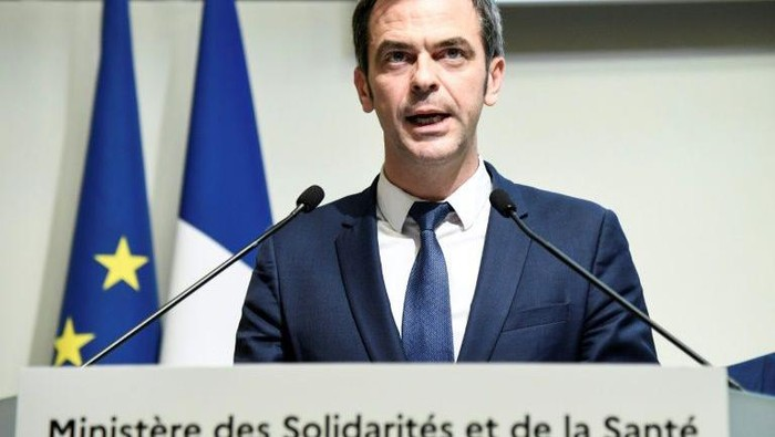 Menteri Kesehatan Prancis Olivier Veran (AFP Photo)