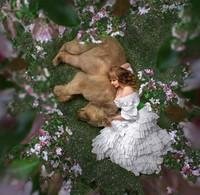 Selama 5 tahun Mila telah bekerjasama dengan beruaang bertubuh besar ini. Puluhan model dia terbangkan dari berbagai negara untuk berfoto dengan Stephan. Hasil fotonya pun membuat siapapun terpukau. (dok Mila Zhdanova)