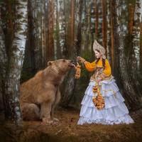 Hal ini membuat fotografer asal Moskow bernama Mila Zhdanova punya serangkain ide menarik untuk menjadikan Stephan sebagai modelnya. (dok Mila Zhdanova)
