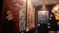 Pameran ini bertema Creative Freedom To Heal The Nation - Artist Response to The Pandemic.