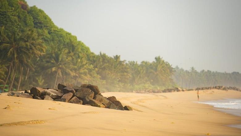Pantai di Kerala, India