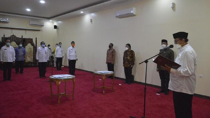 Pelantikan 7 pejabat eselon II di lingkunga Pemprov Banten.s