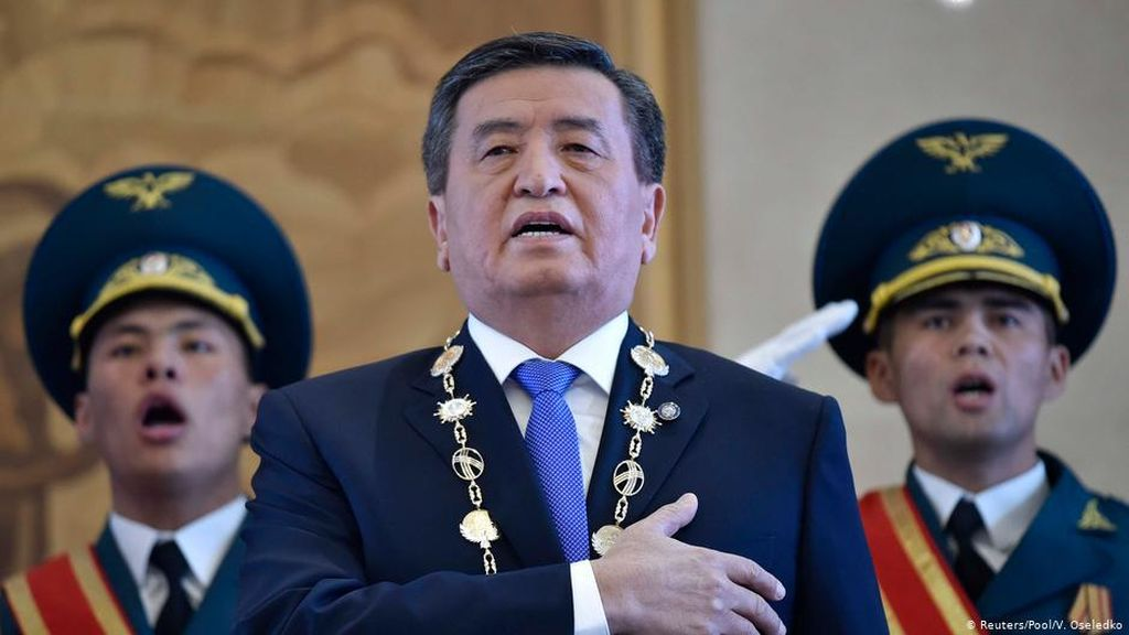 Presiden Sooronbay Jeenbekov Resmi Mundur, Situasi Kyrgyzstan Tak Menentu