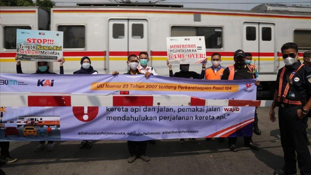 PT KAI: 17 Kecelakaan Terjadi di Perlintasan KA Jakarta Sejak Januari-September