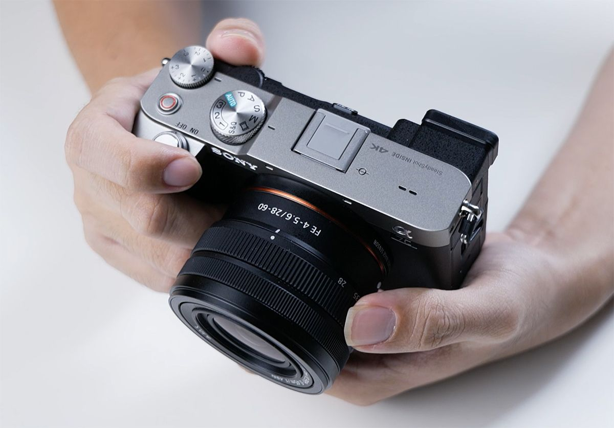 review sony A7 c