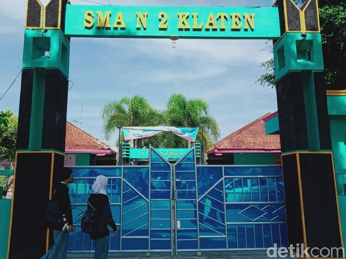 SMAN 2 Klaten akan menjalankan simulasi sekolah tatap muka, Kamis (15/10/2020)