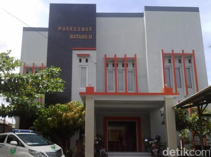 Suasana di Puskesmas Batang II, Kabupaten Batang, Kamis (15/10/2020).