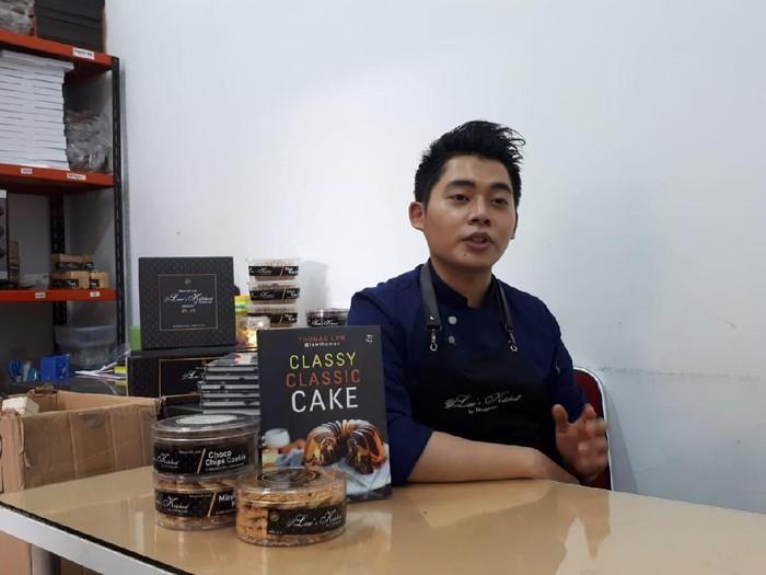 Thomaz Law, King of Marmer Cake yang Jatuh Cinta Pada Kue Klasik Indonesia
