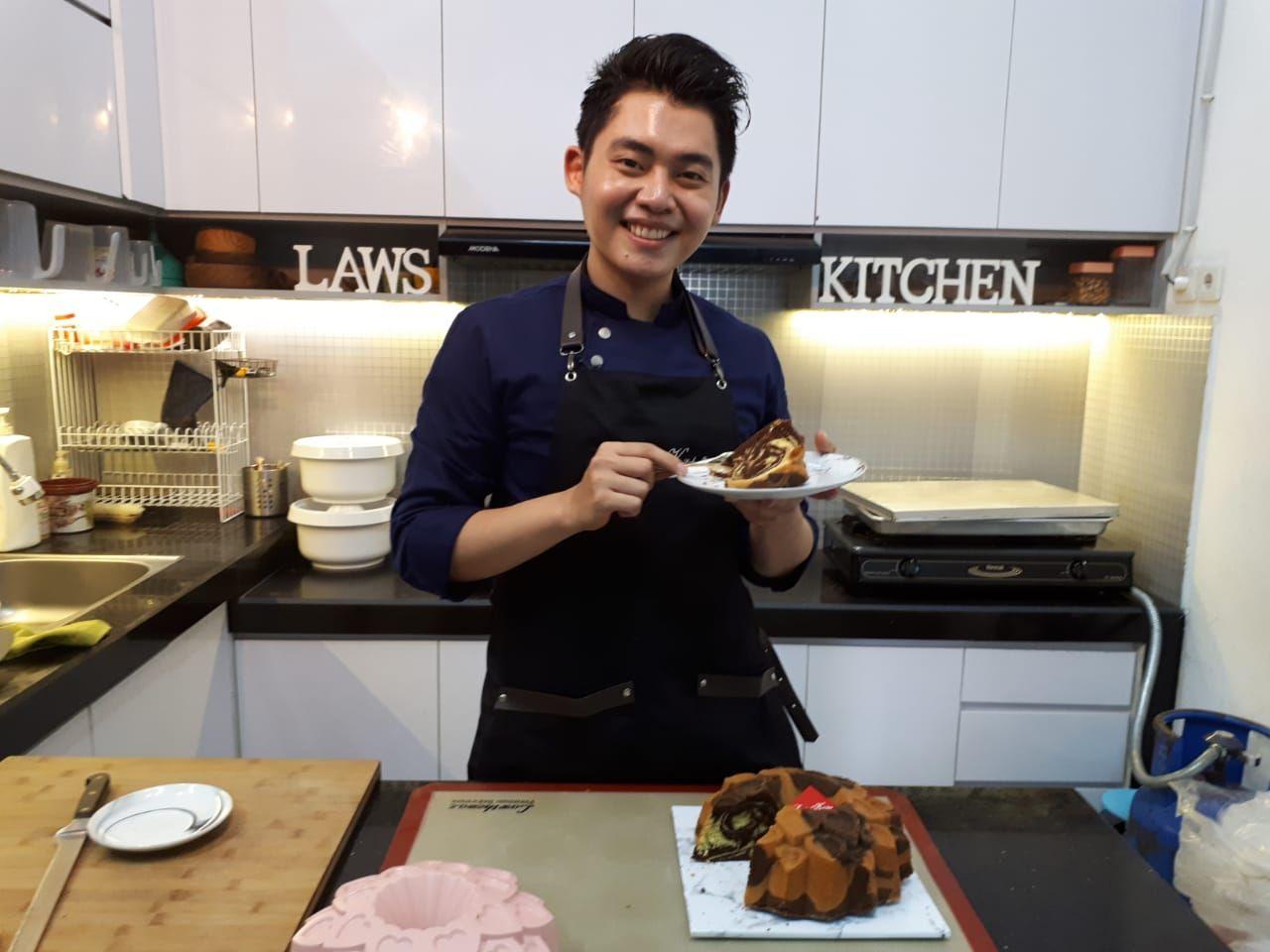 Thomaz Law, 'King of Marmer Cake' yang Jatuh Cinta Pada Kue Klasik Indonesia