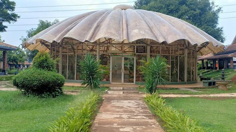 Taman kaktus di TMII.