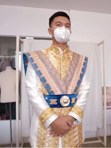 Baju Pengantin Adat Lampung Nikita Willy dan Indra Priawan
