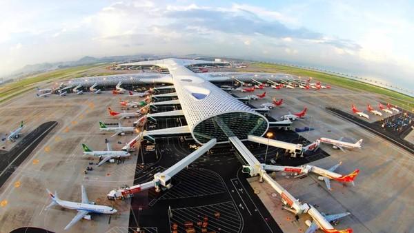 Urutan kelima bandara tersibuk di dunia ditempati Shenzhen dengan 37,9 juta penumpang di tahun 2020. (Istimewa)