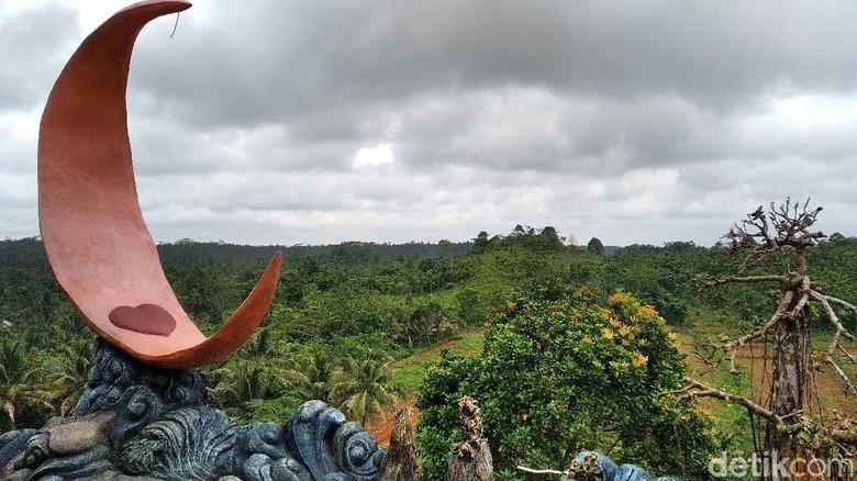kawasan Bukit Damai Indah di Dusun Cikubang Desa Cintakarya Kecamatan Parigi Kabupaten Pangandaran.