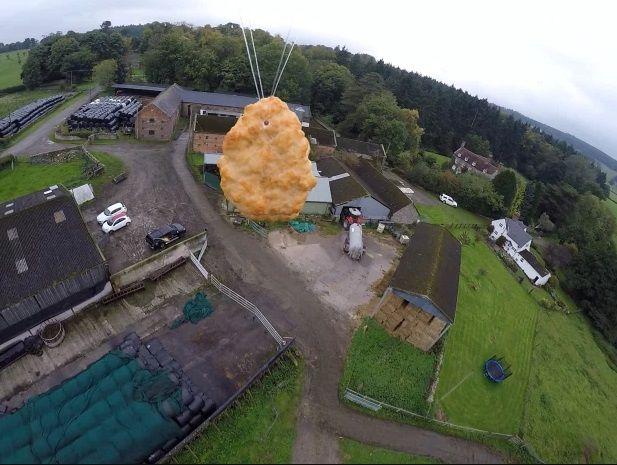 Chicken  Nugget Dikirim ke Luar Angkasa