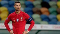 Lagi, Cristiano Ronaldo Dinyatakan Positif COVID-19 untuk Ketiga Kalinya