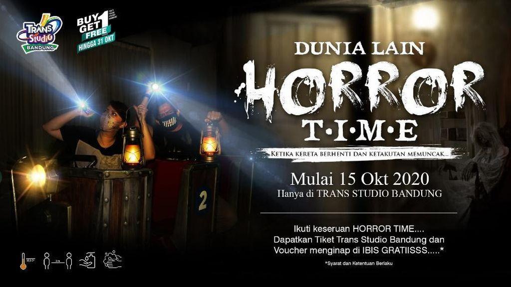 Serunya Halloween bersama Dunia Lain Horror Time Trans Studio Bandung