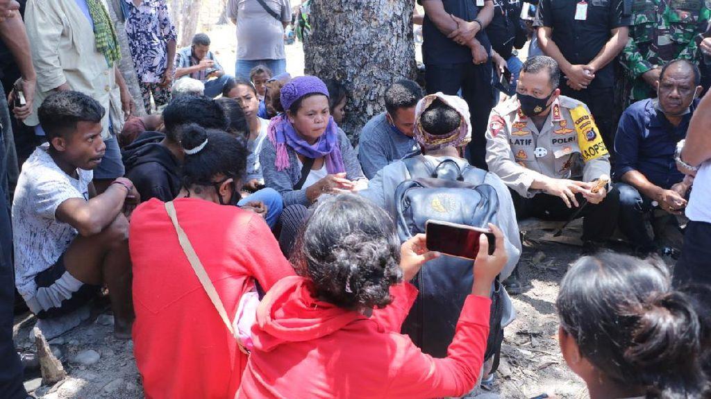 Polisi Masih Siaga di Lokasi Sengketa Lahan Pemprov-Warga Adat Besipae NTT