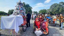 Pasar Klewer Timur Rampung Dibangun, Pedagang Gelar Kirab Budaya