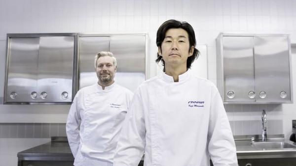 Maskapai ini menganggap pilihan makanan peawat, berupa Nordik kontemporer yang dipadukan dengan gaya Jepang, dapat menarik selera turis internasional juga. Meski begitu, penjualan ini masih ada di tahap awal.