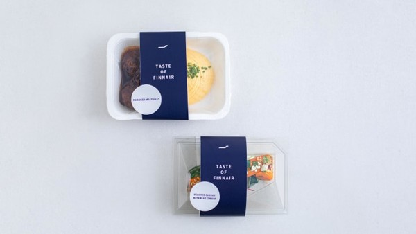Maskapai di masa pandemi jadi semakin inovatif. Terbaru, Finnair menjual makanan pesawatnya di toko kelontong.