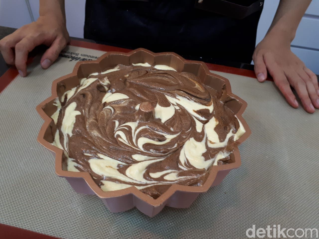 Resep Marmer Caker Super Lembut Ala Thomaz Law