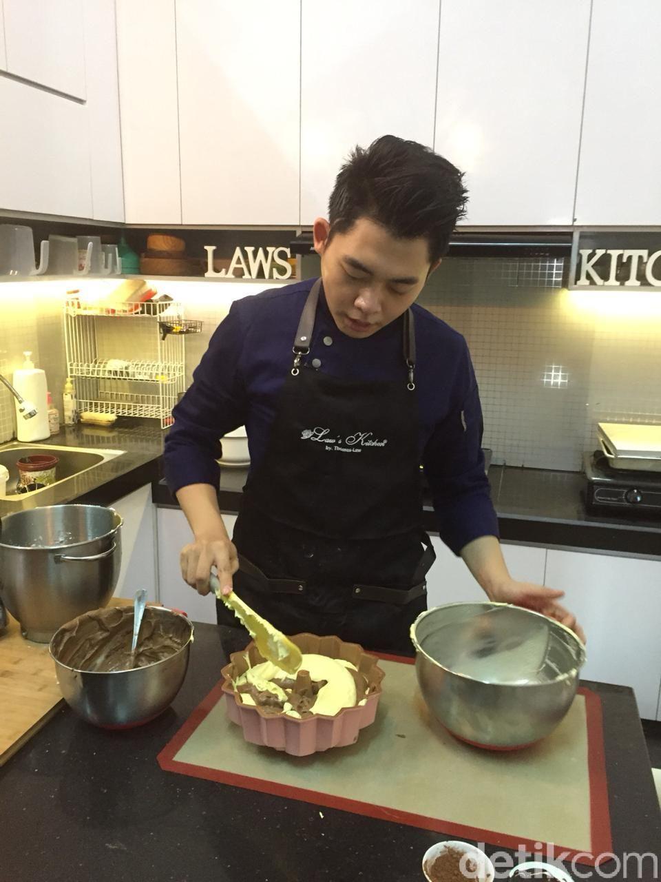 Resep Marmer Caker Super Lembut Ala Thomaz Law