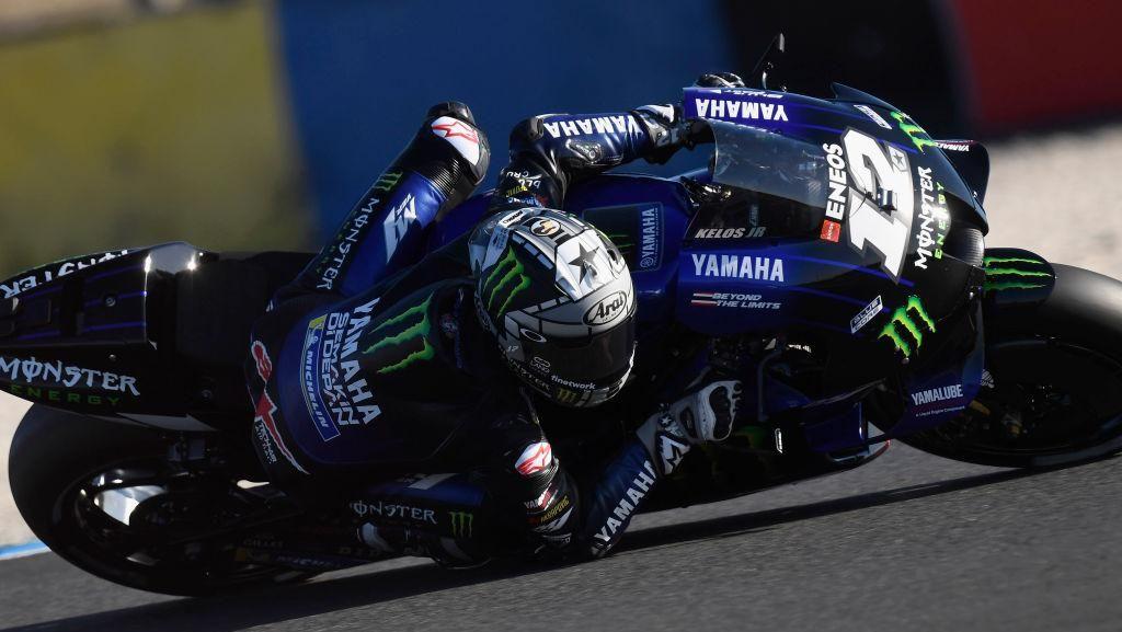 Hasil Free Practice I MotoGP Aragon: Vinales Terdepan, Yamaha Dominan