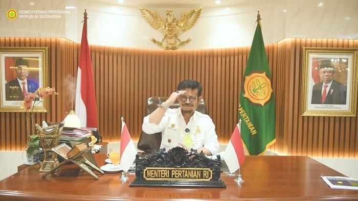 Menteri Pertanian (Mentan), Syahrul Yasin Limpo mengajak masyarakat memberi energi untuk berkontribusi bersama menghadirkan sistem produksi hingga pola konsumsi pangan yang lebih bertanggung jawab.