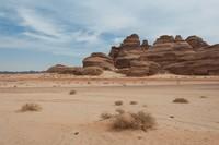 Al Ula adalah kota hidup yang dibangun dari situs arkeologi Arab Saudi. (Getty Images/iStockphoto)