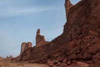 Rencananya situs Al Ula ditargetkan untuk membawa 2 juta wisatawan tiap tahun pada 2035. (Getty Images/iStockphoto)