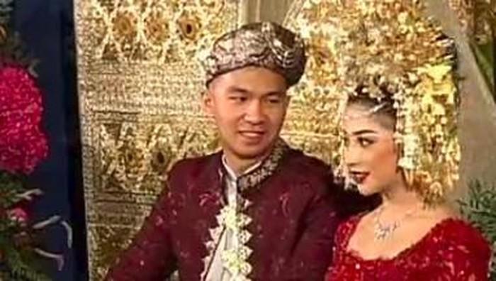 Nikita Willy dan Indra Priawan menikah