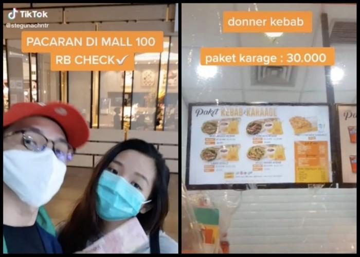 Pasangan Ini Buktikan Bisa Makan Enak di Mall dengan Rp 100 Ribu