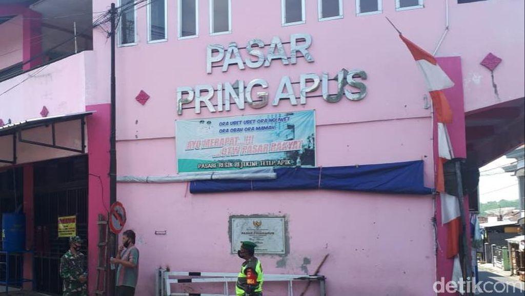 Penjual Baju Meninggal Probabel Corona, Pasar Pringapus Semarang Ditutup