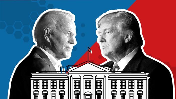 Pemilu Amerika Serikat: Trump atau Biden, siapa yang unggul di daerah-daerah kunci?