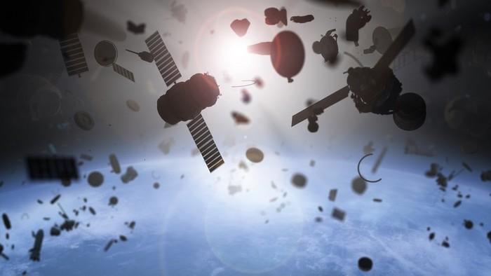 Perangkat luar angkasa Rusia dan China tidak jadi tabrakan, tapi bagaimana dengan sampah luar angkasa lainnya?