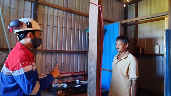 PT Pertagas Niaga (PTGN) mulai mengoperasikan bertahap 422 sambungan rumah tangga jaringan gas (SR Jargas) di wilayah Kutai Kartanegara, Kalimantan Timur,