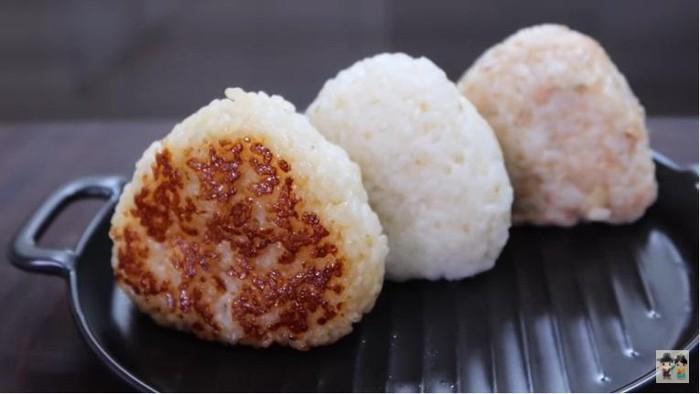 Rice Ball Tuna Mayo ala Korea