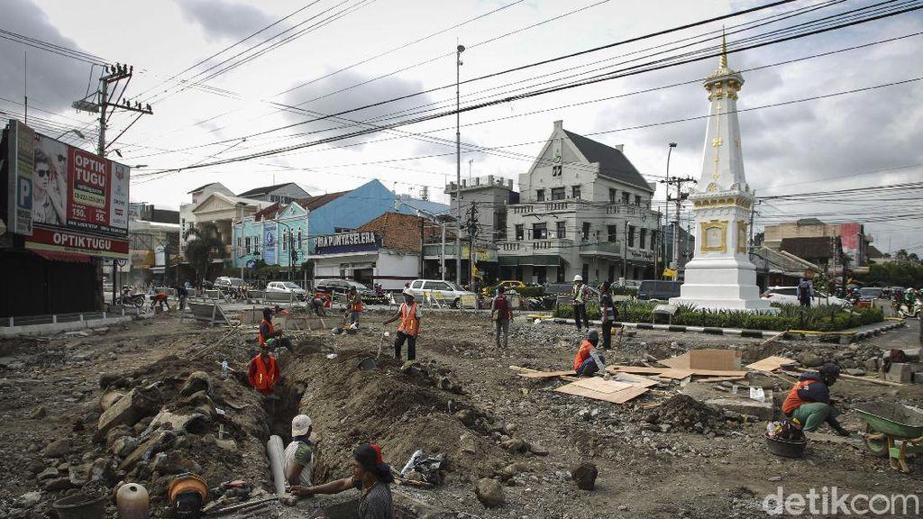 Revitalisasi Kawasan Tugu Pal Putih Yogyakarta