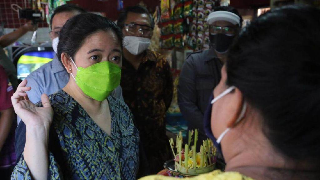 Sektor Pariwisata Terpuruk, Puan Turun Langsung Cek Bantuan di Bali