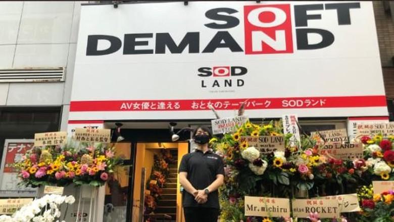 Soft on Demand (SOD) studio film porno terkenal di Jepang bikin taman rekreasi  khusus dewasa bernam SOD Land