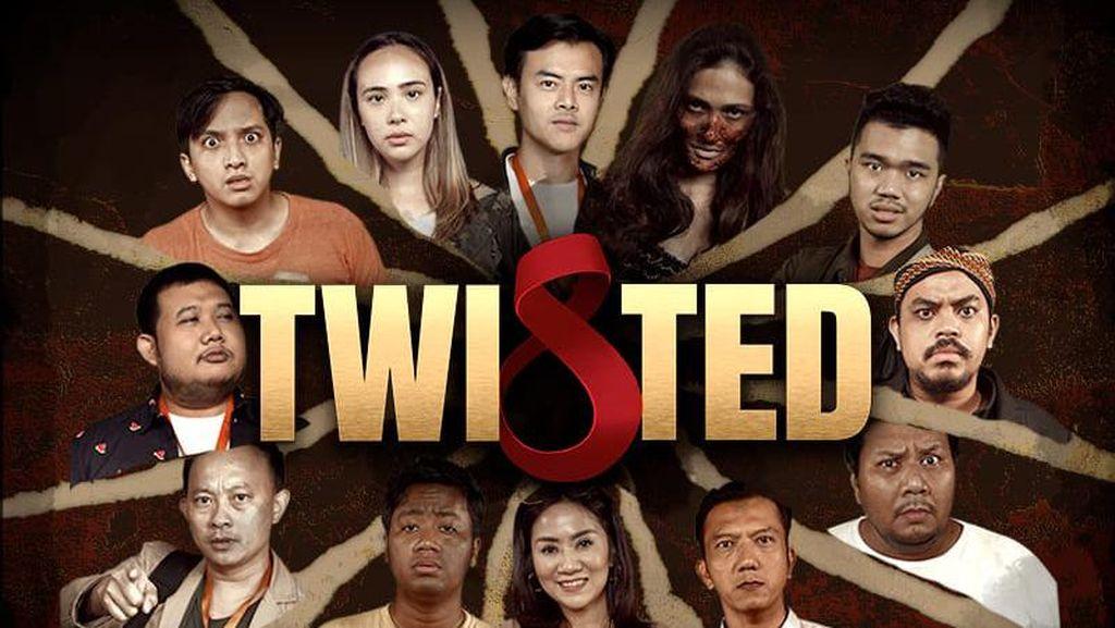 Main di Twisted, Dion Wiyoko dan Pamela Bowie Alami Hal Ganjil