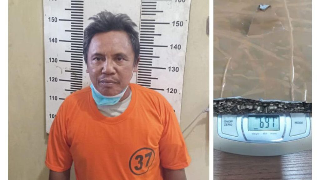 Edarkan Ganja, Tenaga Kerja Bongkar Muat di Tanjung Priok Ditangkap Polisi