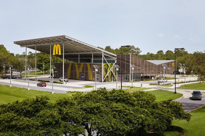 Gerai McDonald's di Orlando Ini Bikin Iri