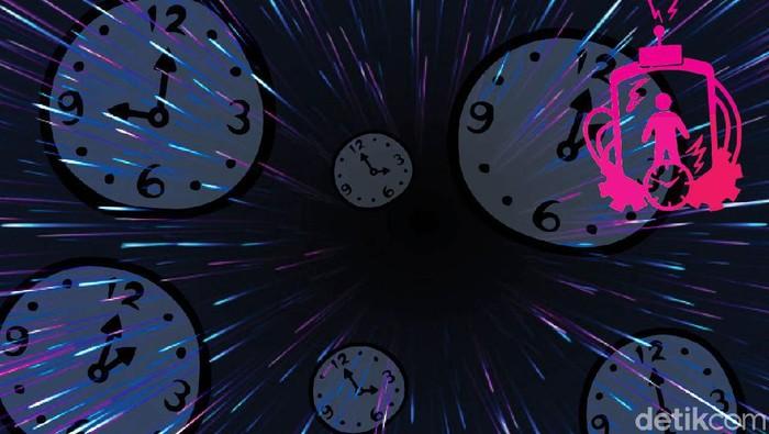 Ilustrasi Mesin Waktu