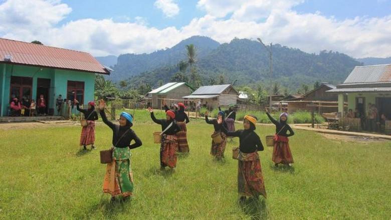 Dusun di Sumatra Selatan.