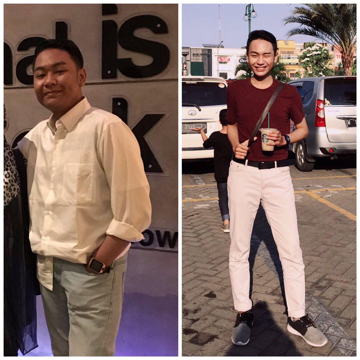 Sukses Turun BB 20 Kilo, Pria Ini Beberkan Tips Diet Tanpa Menyiksa