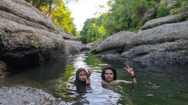 Sungai di Enrekang.